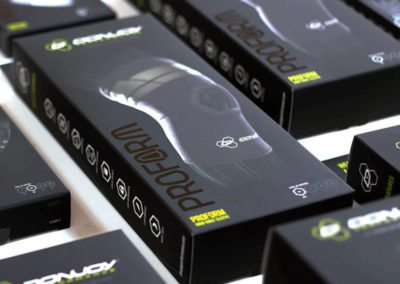 DonJoy Vapor Compression Brace Packaging