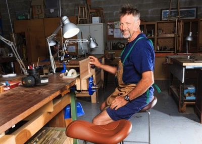 Crowdfunding Workhorse Saddle Chair
