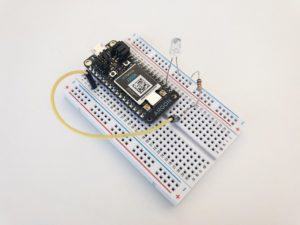 Particle Argon microcontroller
