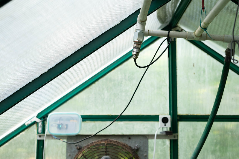 Greenhouse pressure sensor using Particle Argon