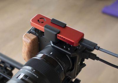 SPEEDSSD with camera mount.