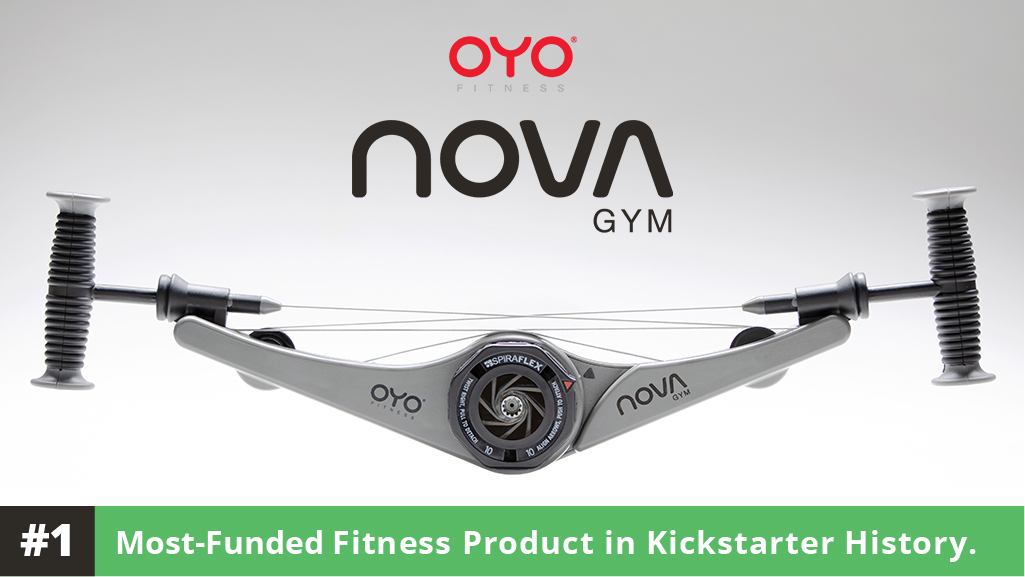 #1 Most Funded Fitness Product on Kickstarter