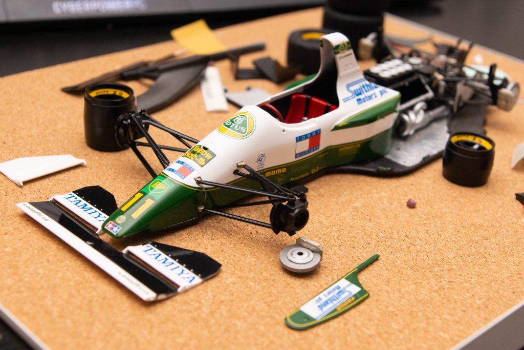 Building a model car