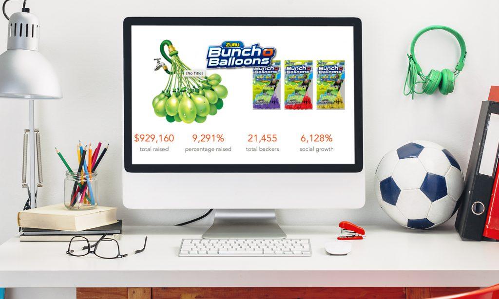 Kickstarter Success Bunch O Balloons